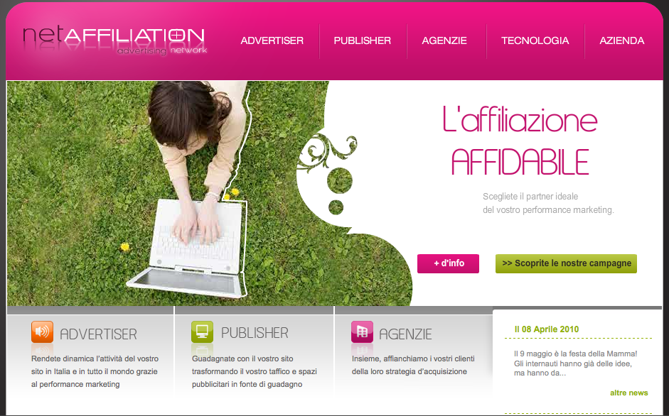 NETAffiliation Advertising Network
