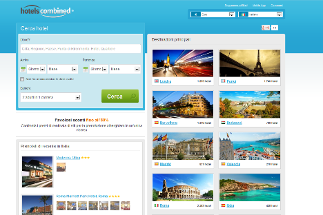 Affiliazione HotelsCombined