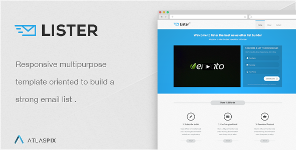 landing page lister