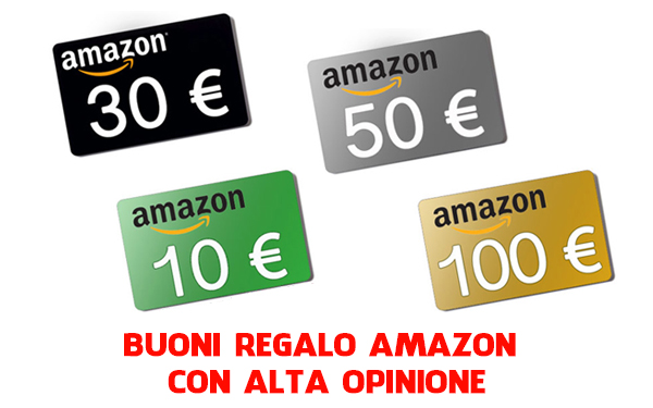 buoni regalo amazon