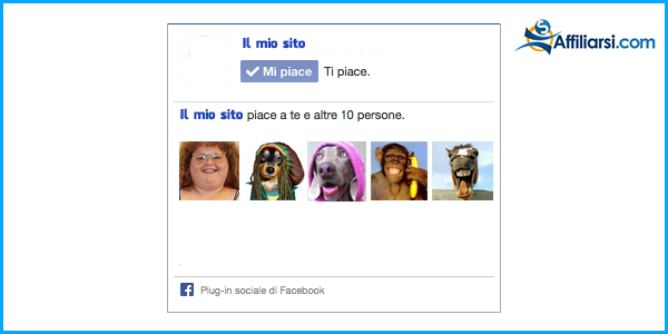 Facebook fan brutti