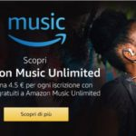 Amazon Music Unlimited programma di affiliazione